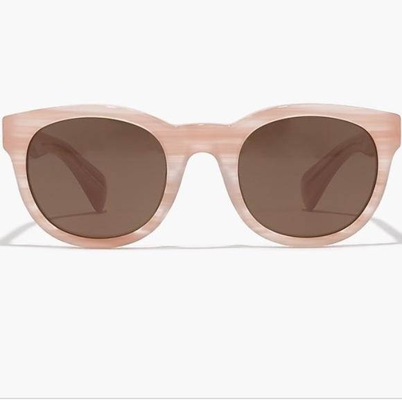 53334644dc J.Crew Sam Sunglasses Pale Pink Horn